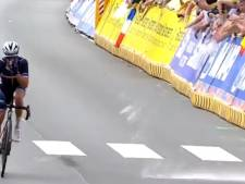Julian Alaphilippe cible d'un jet de bière et sifflé à son arrivée à Louvain