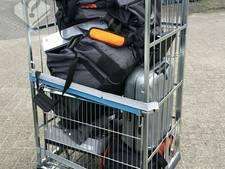 Drie mannen aangehouden in Eindhoven voor diefstallen door heel Nederland ter waarde van tienduizend euro