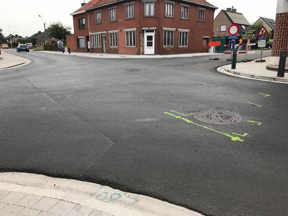 Het ongeval vond plaats op het kruispunt van de Bollestraat en Schavelarestraat.
