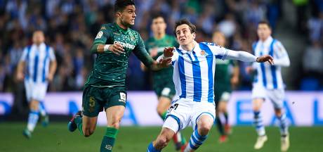 Real Betis naar kwartfinale na remise bij Sociedad