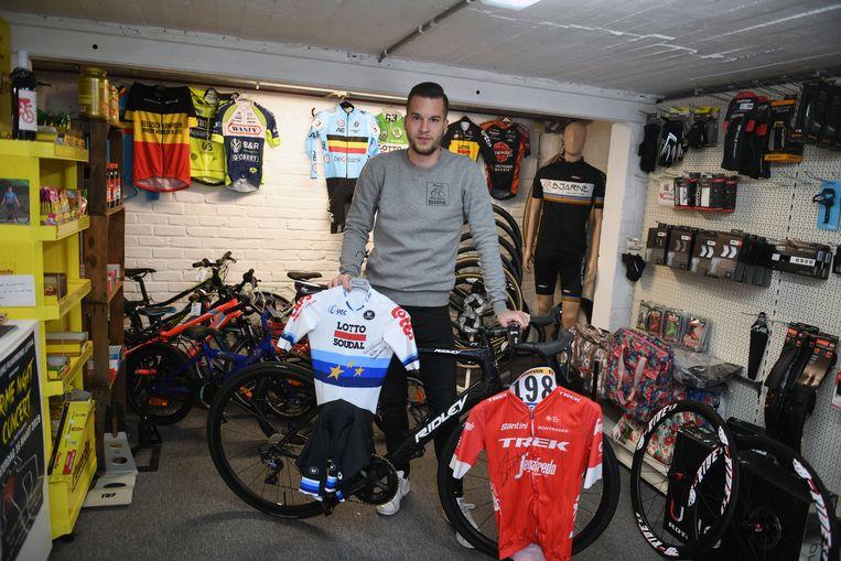 Bike Repair Bjarne De Vroe heeft onder zijn klanten Jasper Stuyven en Victor Campenaerts.