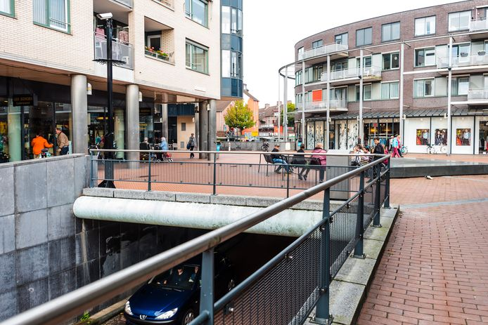 Winkelcentrum Belcour in Zeist.