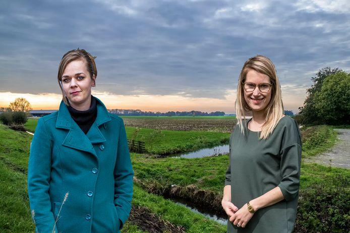 Raadslid Ellen Bijsterbosch (links) werpt zich op als kandidaat-lijsttrekker voor D66. Of ook fractievoorzitter Jony Ferket gaat voor het partijleiderschap maakt ze aanstaande zondag bekend.
