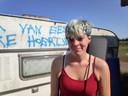 Nathalie Van Hecke (23) is niet opgezet met de wraakactie.
