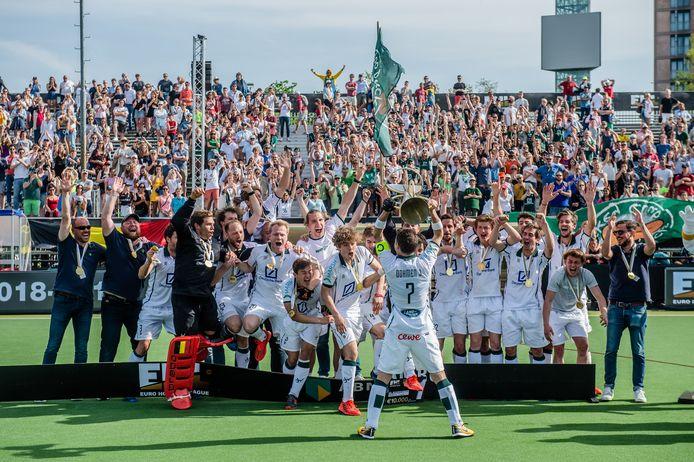 Waterloo Ducks uit België wonnen de afgelopen editie van de Euro Hockey League.
