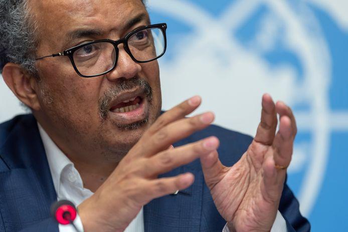 Tedros Adhanom Ghebreyesus, directeur-generaal van de WHO, heeft China nu toegang gevraagd tot àlle documenten.