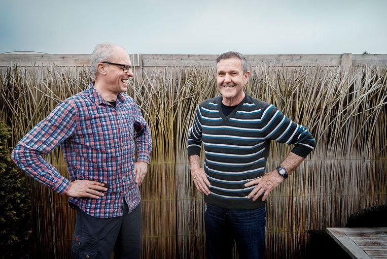Roger De Vlaeminck en Frank Hoste / © Eric de Mildt. All rights reserved. Beeld Eric de Mildt