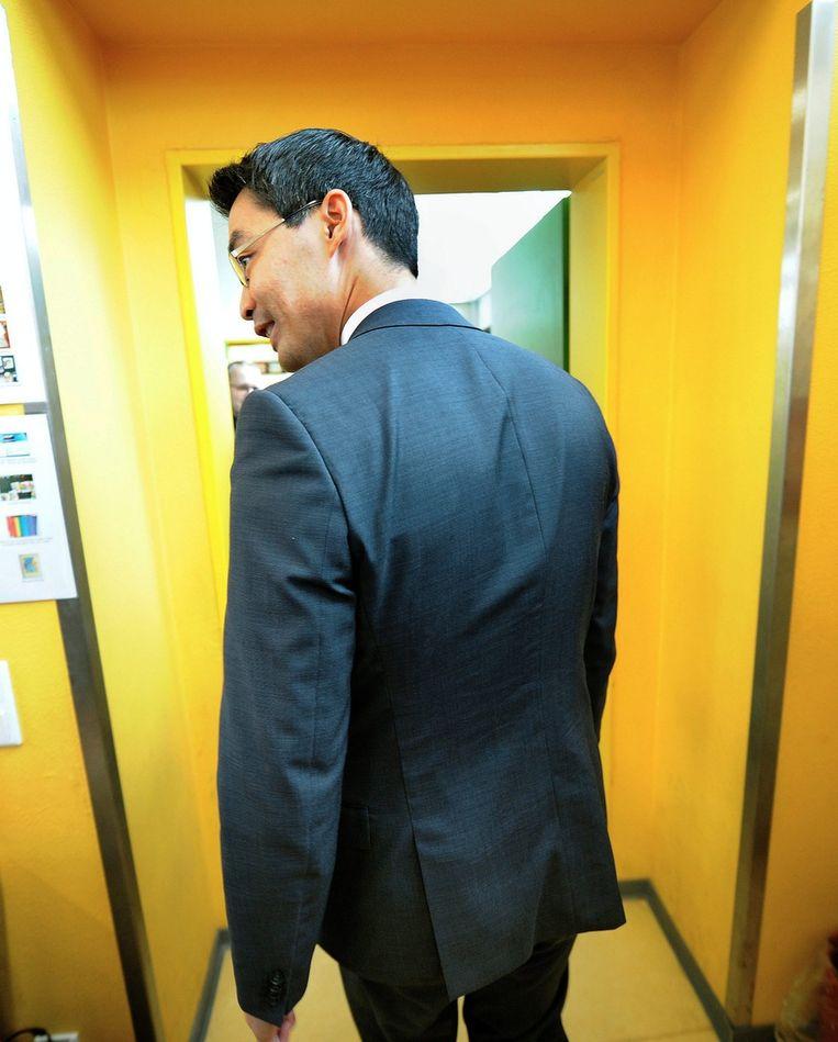 FDP-voorzitter Philipp Rösler. Beeld EPA