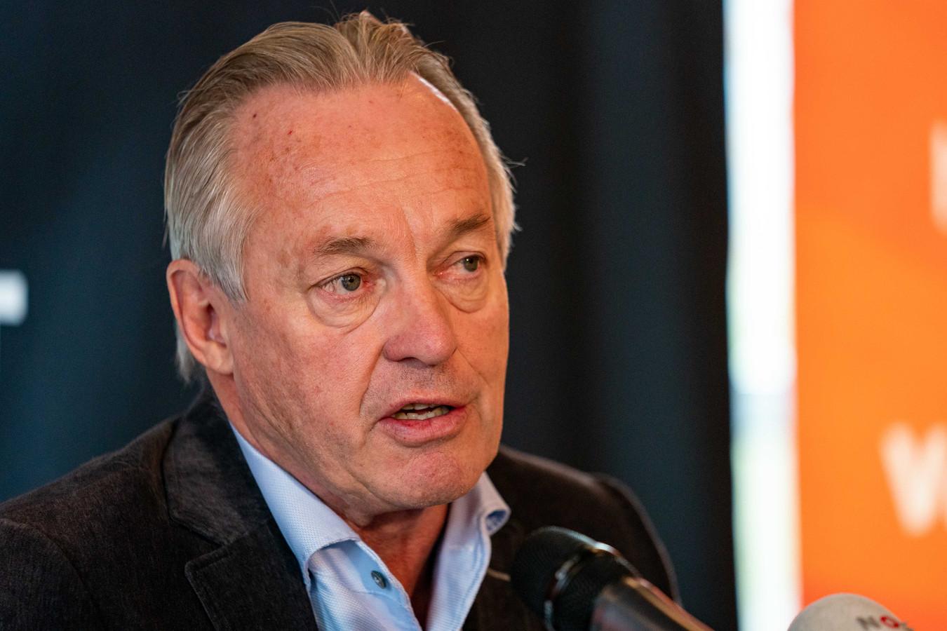 Joop Alberda, tegenwoordig technisch directeur bij de Nederlandse volleybalbond.