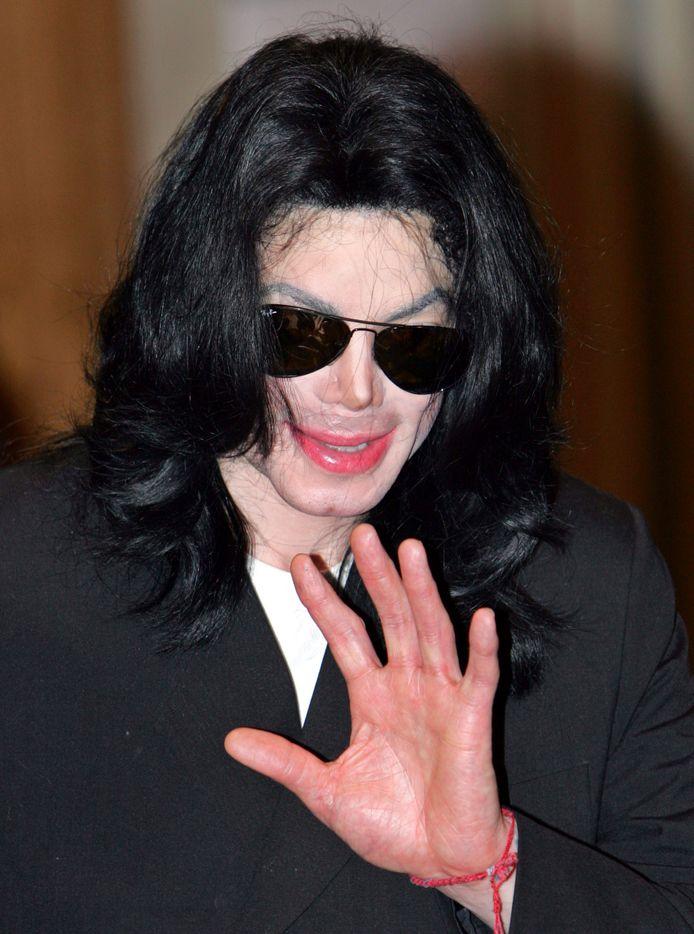 Michael Jackson à Tokyo en 2006.