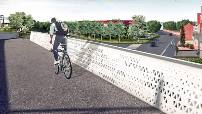 Aanvraag bouwvergunning voor nieuwe fietsbrug over Vijfstraten: meteen ook knip in Nieuwe Molenstraat op komst