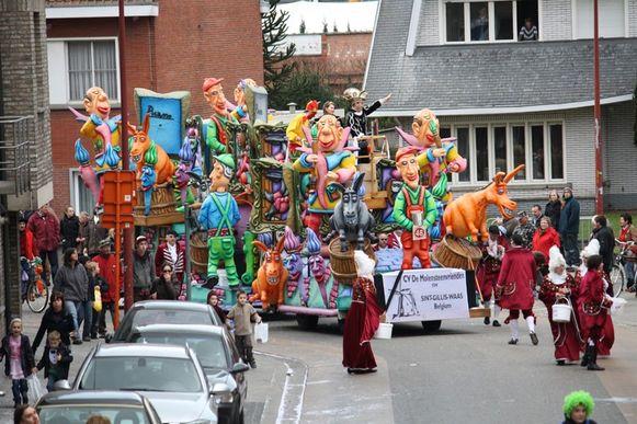 Jaarlijks trekt de Halfvastenstoet door de straten van Rijkevorsel.