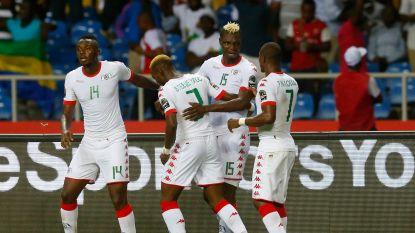 Goal oude bekende Bance volstaat niet voor Burkina Faso, Egypte eerste finalist Africa Cup