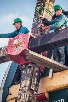 Secuur werkje: de ontmanteling van molen De Goede Hoop