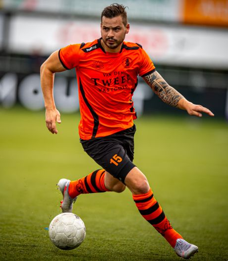Rob Diderik komt met een bedrijf en een gezin tijd tekort, voetballer Sparta Nijkerk stopt ermee