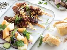 Wat Eten We Vandaag: Cola kipspiezen met barbecuesaus