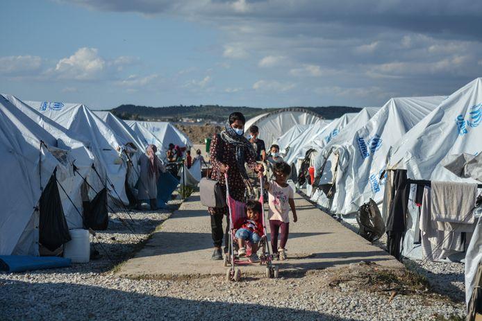 Vluchtelingenkamp Lesbos