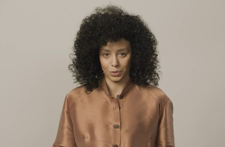 El Kaouakibi ontkent in een videoboodschap alle aantijgingen die de laatste dagen uitlekten over haar. Beeld rv