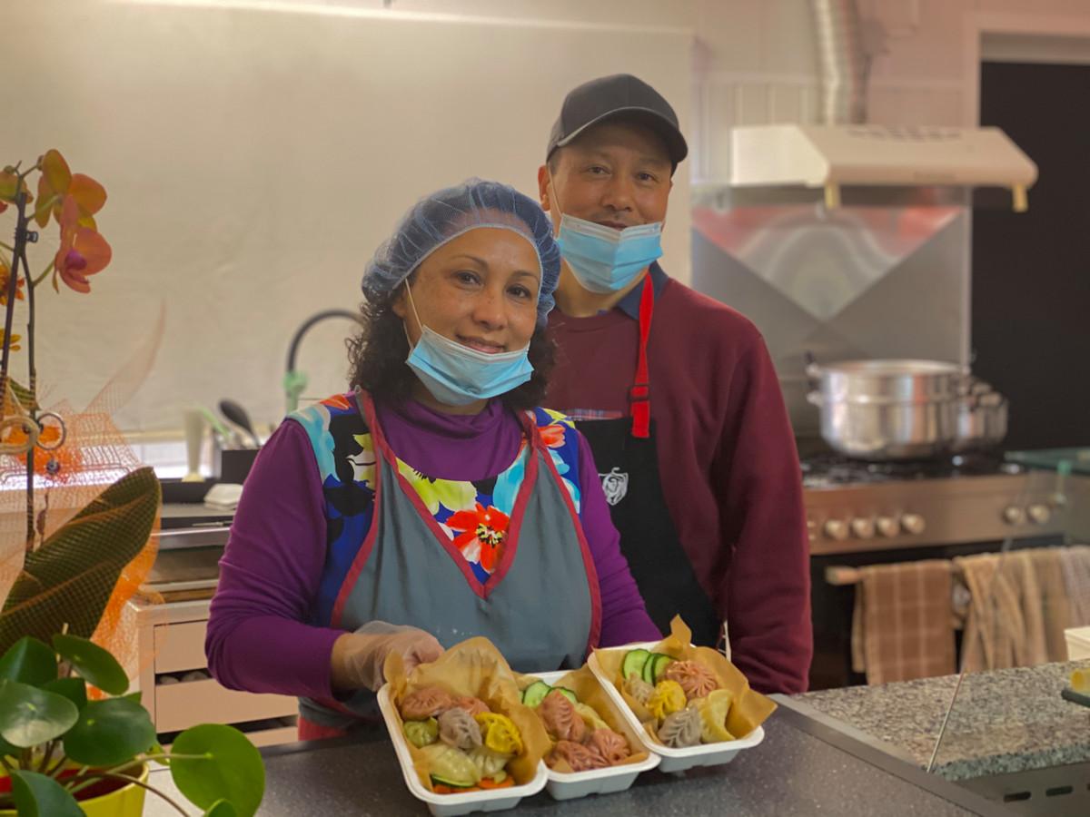 Sanju en Raju van Rabot Dumpling House.