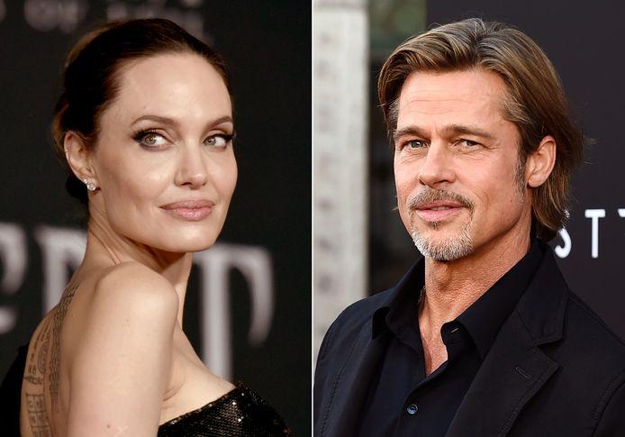 Het zit er weer bovenarms op tussen Angelina Jolie en Brad Pitt