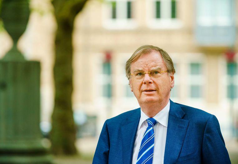 Bernard Wientjes, voorzitter van de VNCI: 'Ik vermoed dat de uitspraak van de rechter over de vergroening van geen gevolgen heeft voor Shells uitstoot van broeikasgassen binnen de EU.' Beeld ANP
