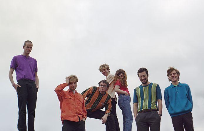 De band Personal Trainer, met derde van links zanger en voorman Willem Smit. 'Het wordt deels improviseren.'