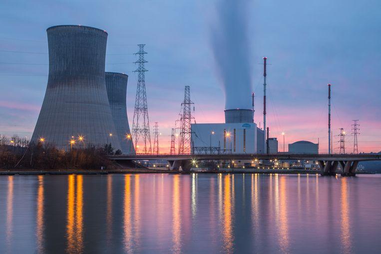 Kerncentrale van Tihange Beeld Photo News
