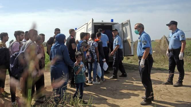 Al 5.400 vluchtelingen aangekomen in Kroatië