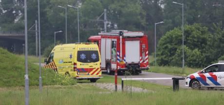 Fietser raakt zwaargewond bij ongeluk op crossbaan in Tiel