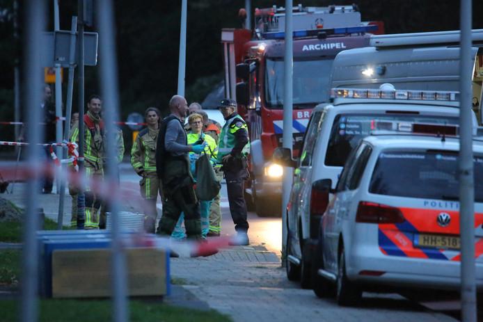 c34357dc51f Ontruiming hoofdbureau Burgemeester Patijnlaan in Den Haag om vondst  verdacht pakketje.