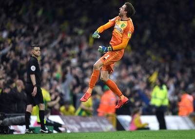 Kruls Norwich nog niet zeker van promotie naar Premier League