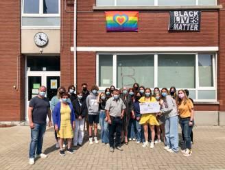 Leerlingen Sint-Vincentiuscollege steunen Slaatje Praatje