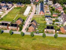 Streep door nieuwbouw Weggeler Heide in Almelo, huizenkopers krijgen bittere pil te slikken