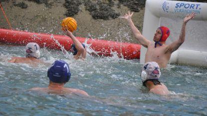"""Belgische primeur: eerste waterpolo tornooi op rivier. """"Leuke manier om nieuwe Olympische sport bekender te maken"""""""