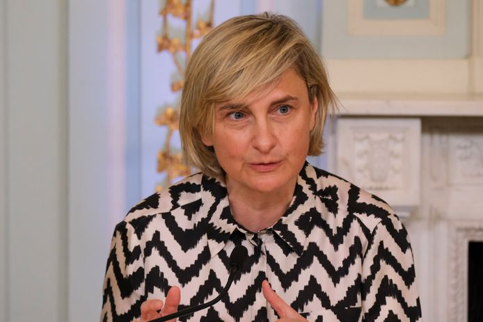 Minister van Economie en Innovatie Hilde Crevits (CD&V)