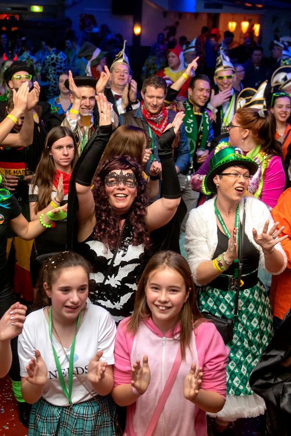 Afsluiting Carnaval in Herveld.