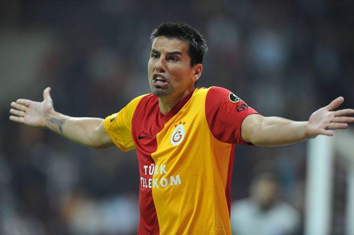 Milan Baris in 2012 als speler van Galatasaray.