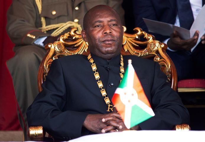 Le président du Burundi Évariste Ndashyimiye