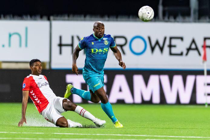 Danzell Gravenberch speelt komend seizoen bij De Graafschap.