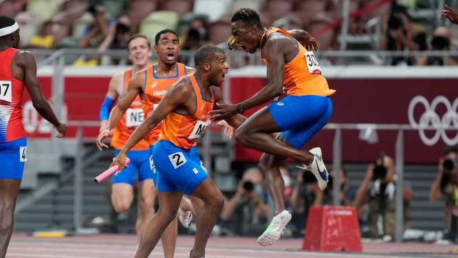 Estafetteploeg maakt atletieksucces compleet met 'zilveren' stunt