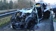 29-jarige automobilist op slag dood bij zware klap op E17