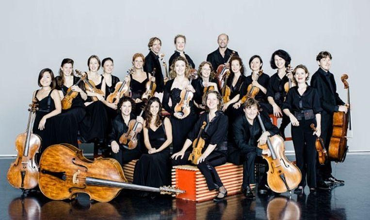 Het Amsterdam Sinfonietta. Beeld -