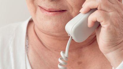 """943 tachtigplussers kregen al een telefoontje dankzij 'Warm Wingene': """"Eenzaamheid is nu groter"""""""