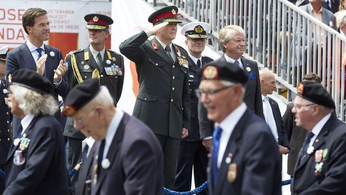 Het Veteranendag-defilé vorig jaar.