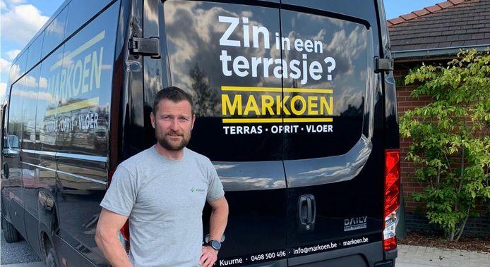 Markoen scoorde de voorbije maanden heel wat aandacht met zijn slogan.