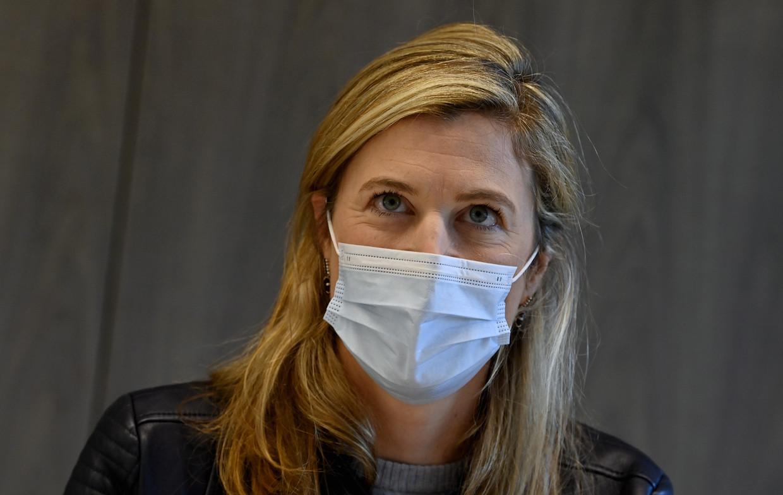 Minister van Binnenlandse Zaken Annelies Verlinden. Beeld BELGA