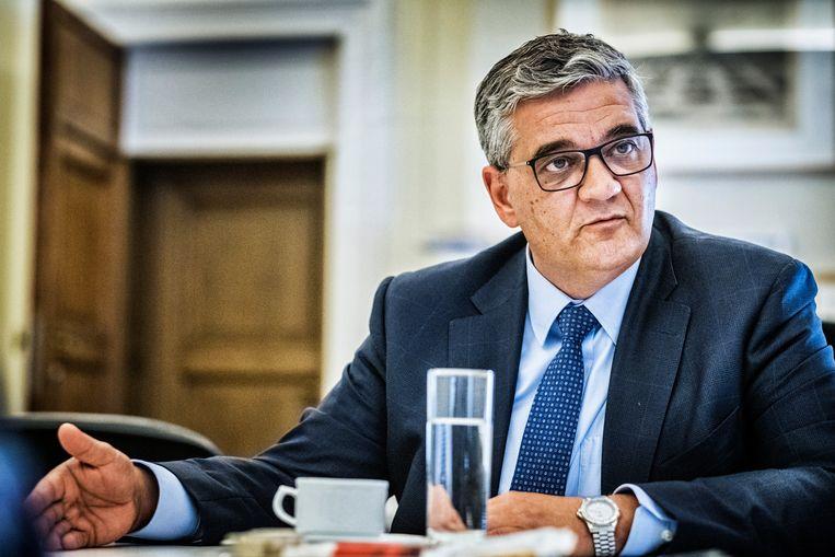 Steven Vandeput, minister van Defensie. Beeld Tim Dirven
