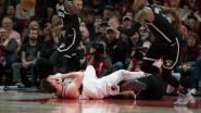 Niet voor gevoelige kijkers: vreselijke blessure in NBA overschaduwt feest in Portland