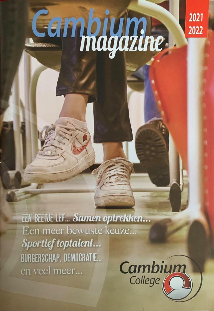 De cover van het Cambium Magazine.