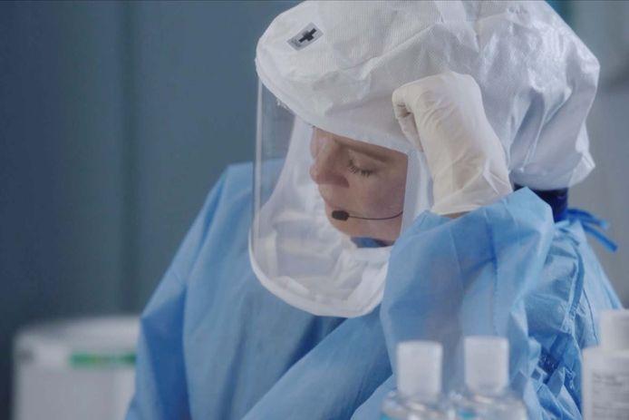Meredith Grey soigne les patients atteints du coronavirus.